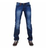 Montazinni exclusive designer jeans regular fit model 9 blauw