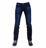 Montazinni exclusive designer jeans regular fit model 3 blauw