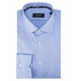Olymp Signature overhemd met lange mouwen blauw