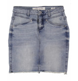 Circle of Trust Rok mimi denim skirt blauw