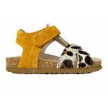 Shoesme Sandalen panter geel