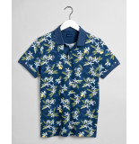 Gant Polo km d2. lemon flower print