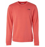 No Excess 95100110 173 peach crew neck sweater -