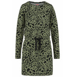 coolcat jurk dion cg  groen