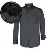 Donadoni heren overhemd regular fit groen