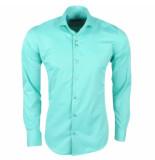 Ferlucci Heren overhemd napoli mint groen