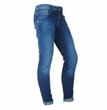 Cars heren jeans model bates lengtemaat 34 dark used zwart