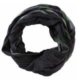 s.Oliver trendy geblokte heren sjaal zwart