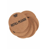 America Today Gift cork coasters wit