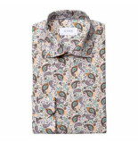 Eton Overhemd beide met print lm