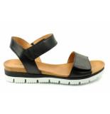 Creator 18657 sandaal zwart
