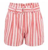 Esqualo Hs20.16206 short cotton stripe rood