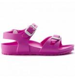 Birkenstock Sandaal rio eva neon pink kids