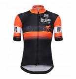 Santini Fietsshirt giro d'italia the big start-gelderland short sleeve jersey zwart