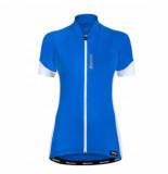 Santini Fietsshirt ora women short sleeve jersey blue blauw