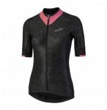 Nalini Fietsshirt women raffinata /roze zwart