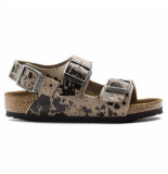Birkenstock Sandaal kids milano colour sprays narrow-schoenmaat 24