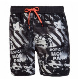 Protest Beachshort men alaska true black zwart
