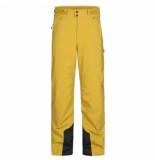 Peak Performance Skibroek men maroon p smudge yellow-s