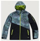 O'Neill Ski jas o'neill boys halite jacket black aop zwart