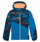 O'Neill Ski jas o'neill boys halite jacket blue aop blauw