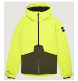 O'Neill Ski jas o'neill boys quartzite jacket lime punch groen
