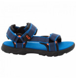 Jack Wolfskin Sandaal kids seven seas 3 blue orange blauw