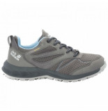 Jack Wolfskin Wandelschoen women woodland texapore low grey light blue grijs