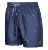 Protest Beachshort men souflee ground blue blauw
