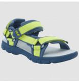 Jack Wolfskin Sandaal kids seven seas 3 lime blue-schoenmaat 26