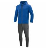 Jako Joggingpak met kap premium basics m9729-04 blauw