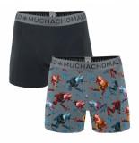 Muchachomalo 2-pack print/light grey