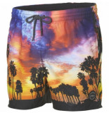 O'Neill Boardshort o'neill men mid vert photo art shorts red