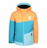 Dare2b Ski jas kids debut orange burst sea breeze