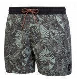 Protest Beachshort men bonzo deep grey grijs