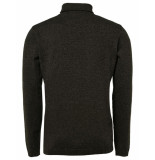 No Excess 92230912 turtleneck 059 dk army no-excess
