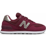 New Balance Wl574wnl rood