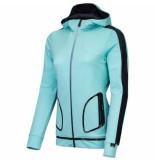 Sjeng Sports Lady hooded vest nicky-a249 mintgroen