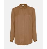 MOSS COPENHAGEN Blair seasonal polysilk shirt