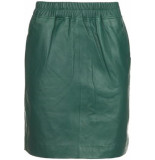 EST'SEVEN Leather skirt