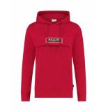 Ballin Amsterdam Ballin | transparant logo patch anorak hoodie