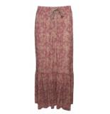 20 TO 20352 067 skirt lurex - flowers rosa