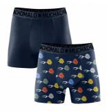 Muchachomalo Boys 2-pack shorts fish