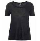 Pieces T-shirt 17103594 pcariana zwart