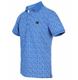 Blue Industry Polo kbis20-m34 blauw