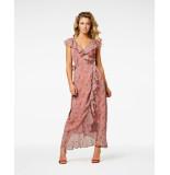 Freebird Olga maxi dress no sleeve roze