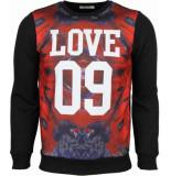 Enos Sweater bloemen motief love 09 print
