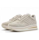 Via Vai Via vai mila bow sneakers beige
