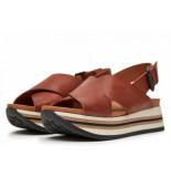 Via Vai Via vai mirte strap sandalen bruin