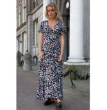 Colourful Rebel Ava Flower Maxi Wrap Dress